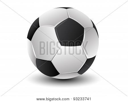 Football (soccer) ball isolated