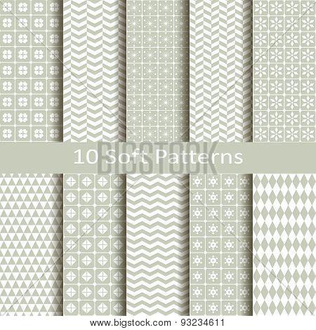 set of ten soft patterns