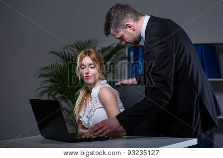 Boss With Secretary