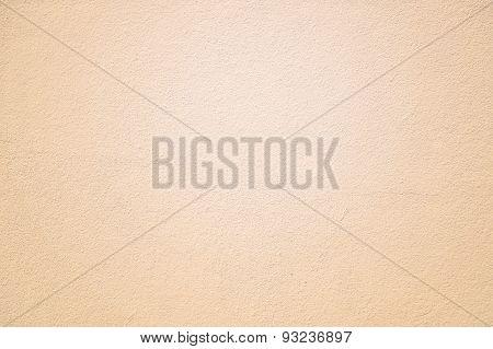 Cream Plaster Wall Texture Background