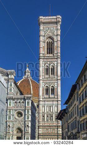 Giotto Campanile, Florenca, Italy