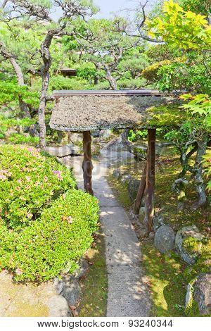 Garden Of Fukujukaikan Hall (circa 1930) In Fukuyama, Japan