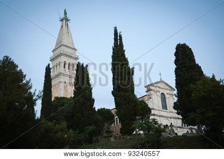 Basilica Of Saint Euphemia In Rovinj