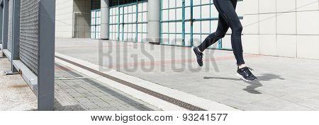 Runner's Beautiful Legs