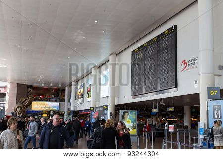 Brussels Airport Terminal