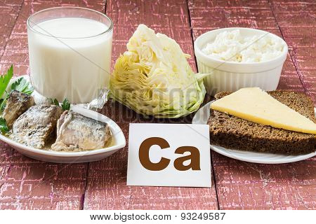 Products - A Source Of Calcium