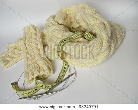 hobby knitting of spoke
