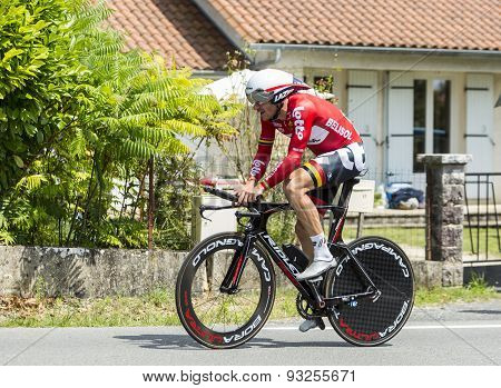 The Cyclist Adam Hansen - Tour De France 2014