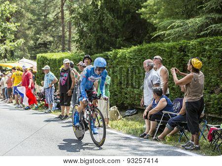 The Cyclist Tom-jelte Slagter - Tour De France 2014