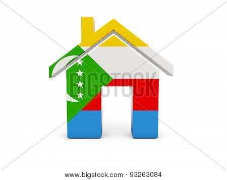 Home With Flag Of Comoros
