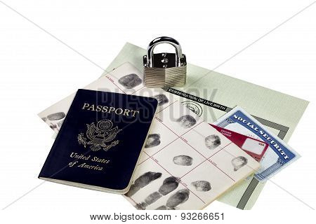 Identity Documents with Lock
