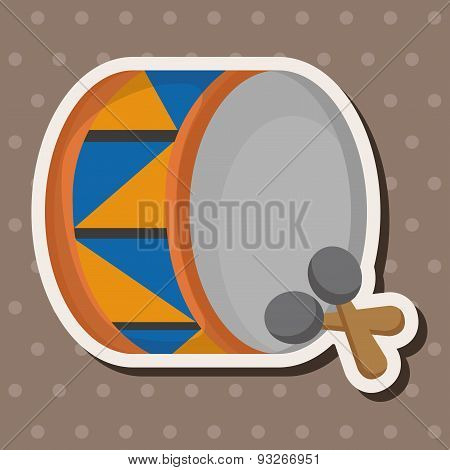 Circus Drum Theme Elements