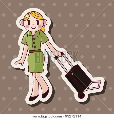 Flight Attendants Theme Elements