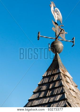 Weathercock, Weather Vane Wind Direction Decoration