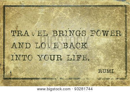 Travel Rumi
