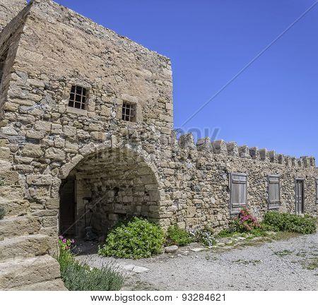 Kales Fort Courtyard In Lerapetra