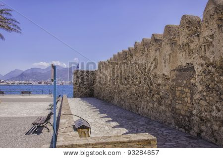 Kales Fort In Lerapetra Side On View