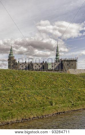 Kronborg Castle Moat Mound