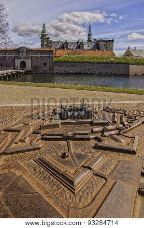 Kronborg Castle Scale Model