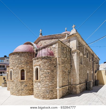 Lerapetra Church Of Saint George Square Compo