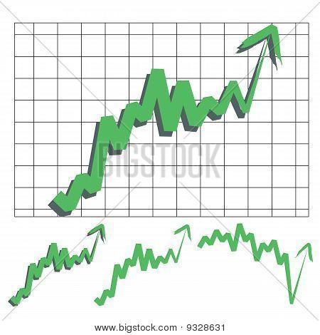 Stock Index Arrow