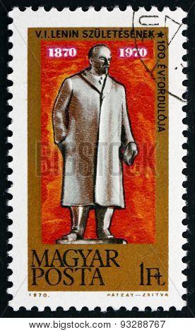 Postage Stamp Hungary 1970 Vladimir Ilyich Lenin, Revolutionary