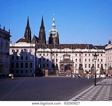 Hradcany, Prague.