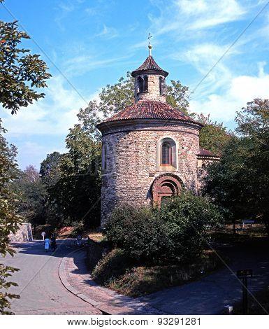 St Martins Chapel, Vysehrad.
