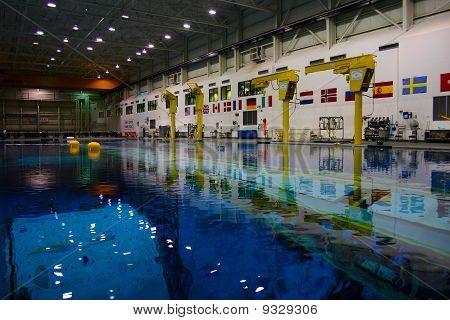 Astronaut Neutral Buoyancy Lab