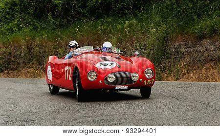 old car CISITALIA  202 SMM Spider  1947 mille miglia 2015