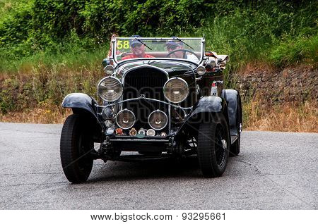 old car CHRYSLER 75 Le Mans 1929  mille miglia 2015
