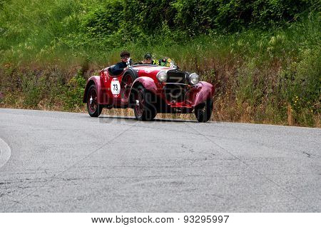 old car FIAT  514 CA Spider Sport  1931  mille miglia 2015