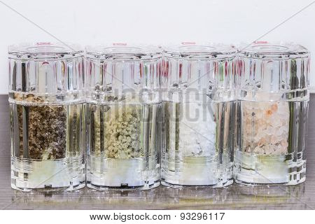 salts of the world in the glass