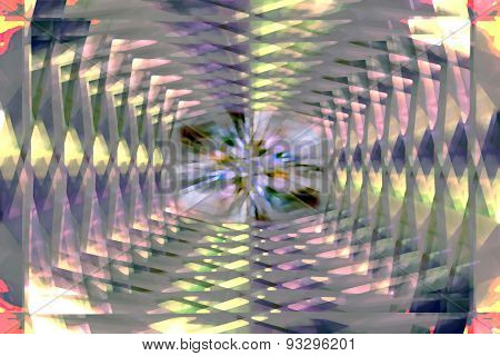 Lattice Pattern Tunnel