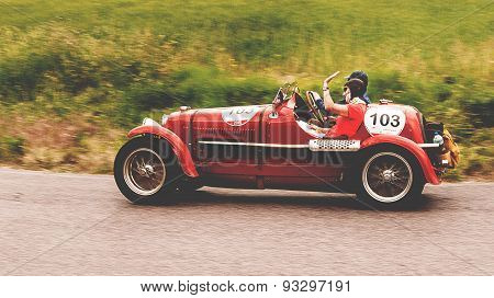 old car MASERATI 4 CS 1500 1934 mille miglia 2015