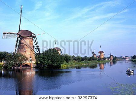 Windmills, Kinderdijk.