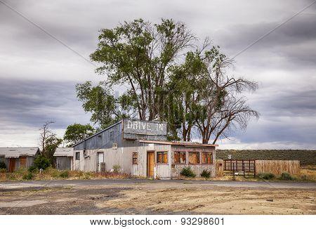 Desolate Drive In Motel