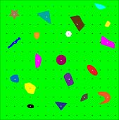 picture of climb up  - Climbing wall pattern close up - JPG