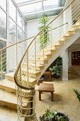 picture of stairway  - Close - JPG