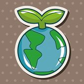 pic of environmental protection  - Environmental Protection Concept Theme Elements - JPG