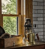 stock photo of lighthouse  - 1920s lighthouse equipment - JPG