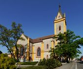 stock photo of bohemia  - Church of St - JPG