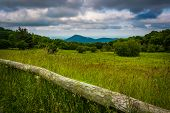 picture of virginia  - View from Old Rag Overlook in Shenandoah National Park Virginia - JPG