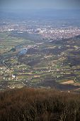 pic of serbia  - Scenic view at the Ovcar gorge in Serbia - JPG