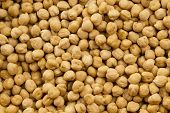 picture of chickpea  - background from natural chickpea - JPG