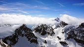 picture of tit  - Valley of Titlis snow mountains in Engelberg Lucerne Switzerland - JPG