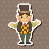 picture of private detective  - Detective Theme Elements - JPG