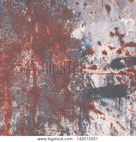 Grungy textured background - Abstract rust surface