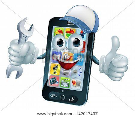 Mobile Repair Mascot