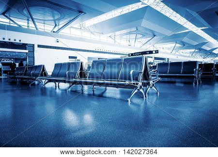 clean airport lounge